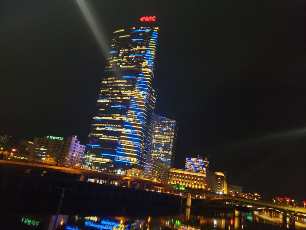 Skyscraper Blue